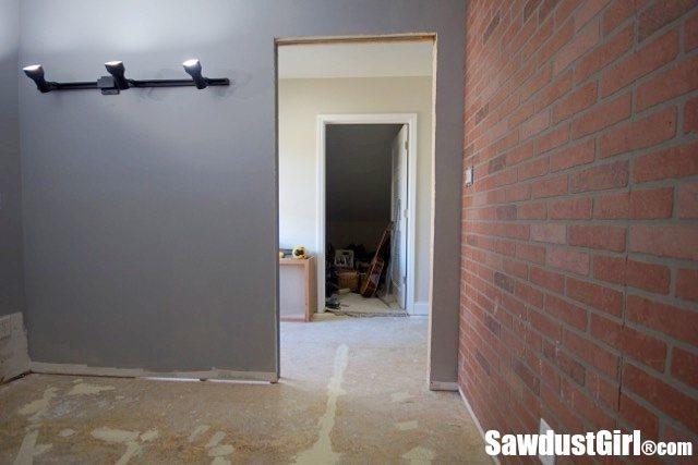 Beginning the loft sawdust girl for Music studio flooring