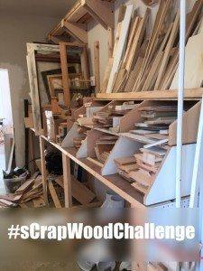 sCrap Wood Challenge link up