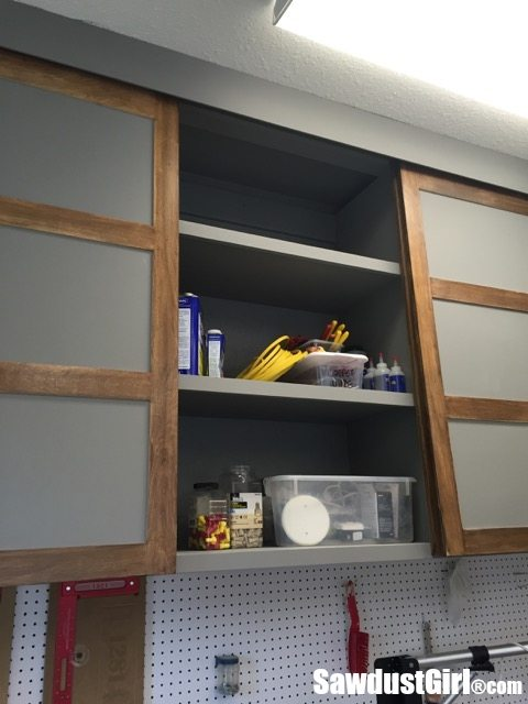 sliding cabinet doors. Easy DIY Sliding Cabinet Doors