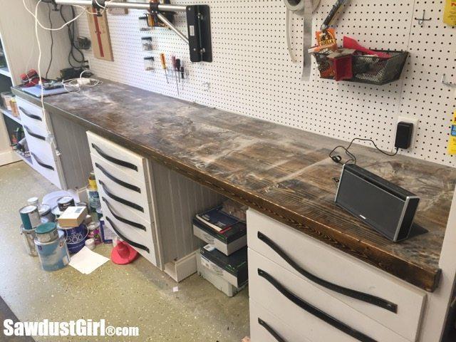 workshop countertop