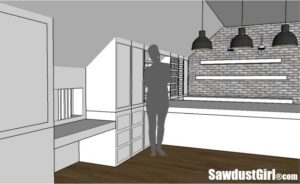 Craft Room Studio Design Plan