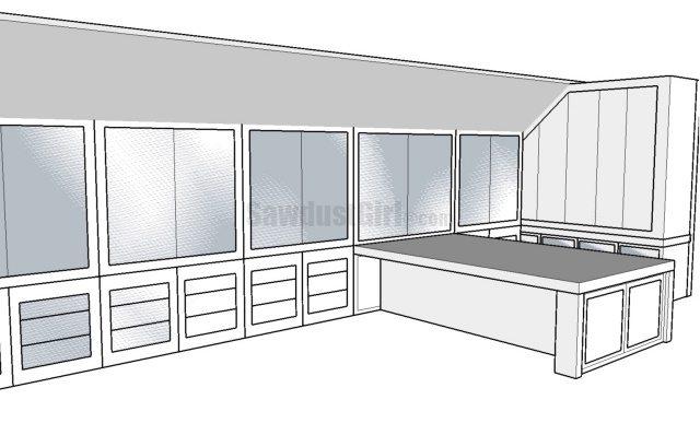 Craft room design options