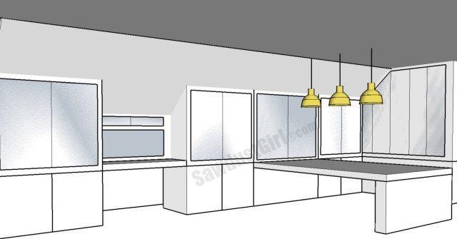 Craft room design options sawdust girl for Craft room design layout