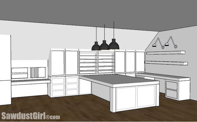 Craft Room Design Options Sawdust Girl