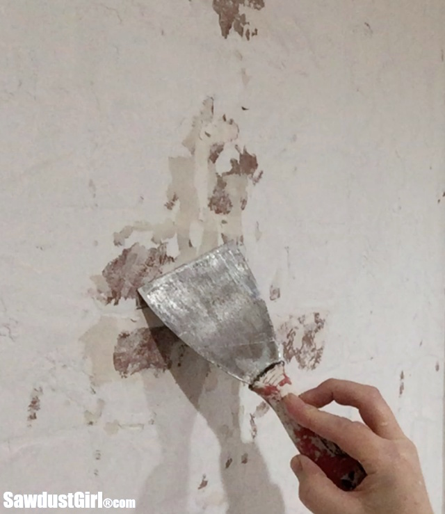 Real Plaster Walls : Faux brick and plaster wall sawdust girl