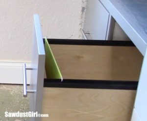 File Folder Drawer for Hanging Files
