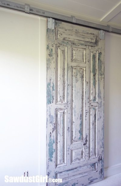 Chippy Paint Barn Door