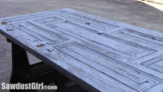 Chippy Paint Technique