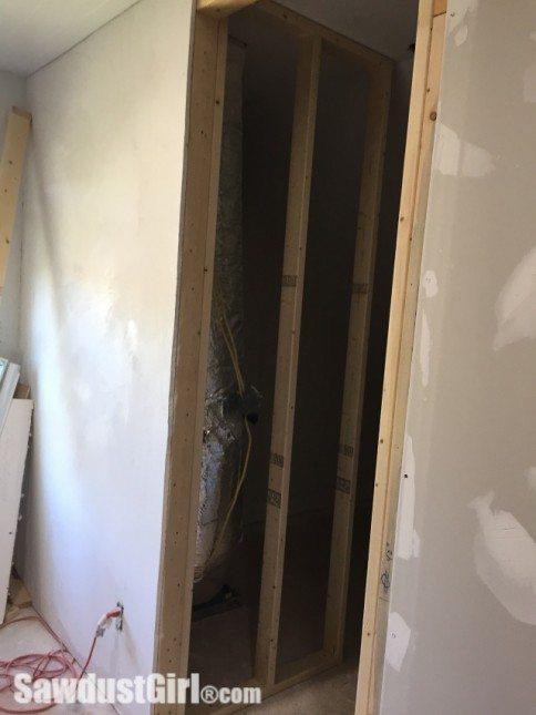 Hiding HVAC equipment