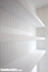 Floating Shelves – Studio Closet