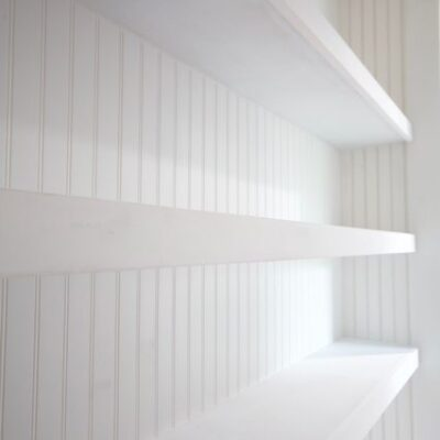 Long Floating Shelves – Closet Shelves