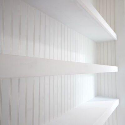 Long Floating Shelves – Closet Shelves