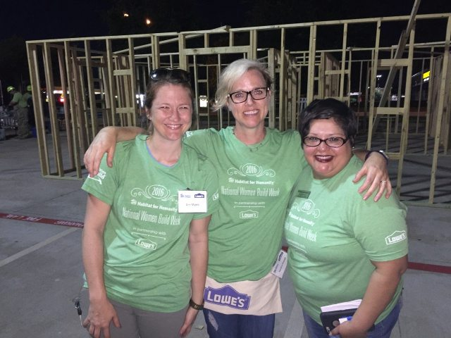 Women Build with Lowe's and Habitat for Humanity