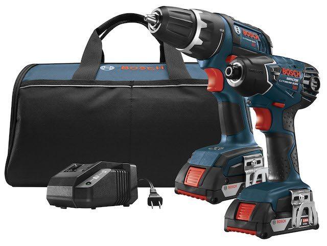 bosch drill driver compbo kit
