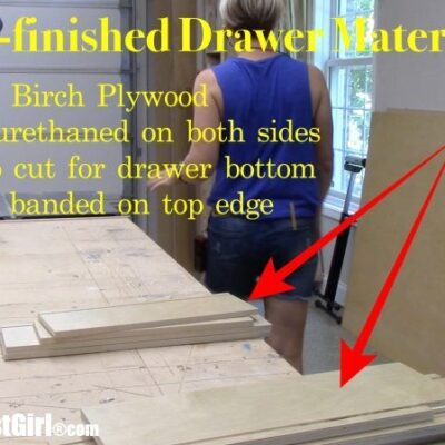 Cabinet Drawer Material & Hardware tips