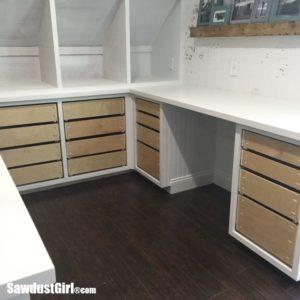 Studio drawers and drawers and drawers