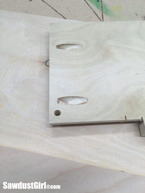 Blum locking mechanism jig
