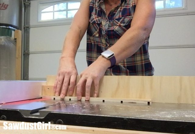 cutting slots for drawer dividers