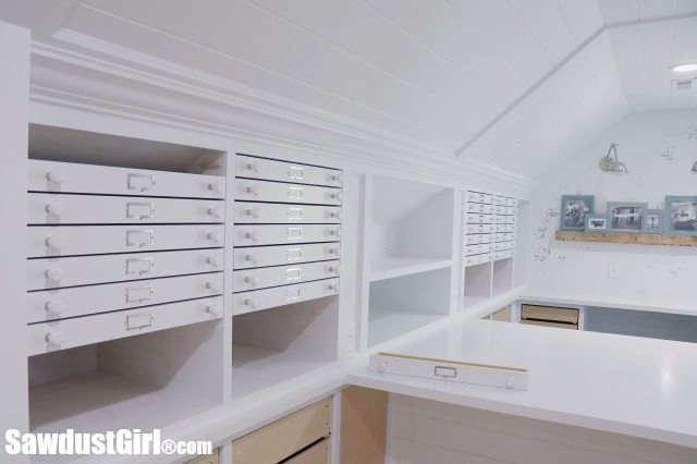 Map Drawers - cabinet drawer installation