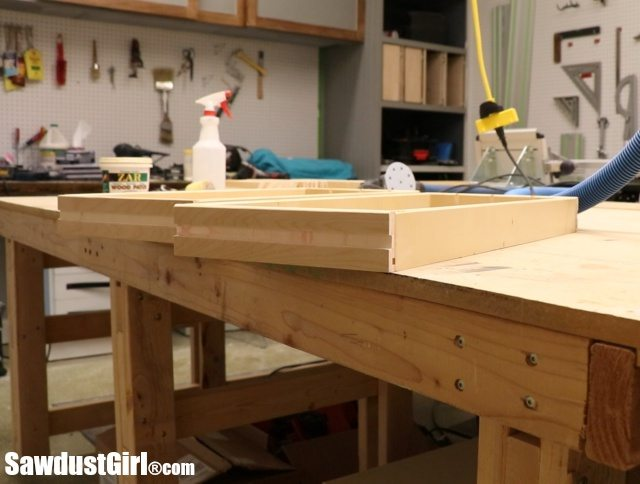Dado for wood drawer runners