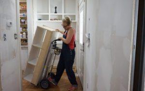 Kitchen Entry Makeover – Day 1 – Demolition