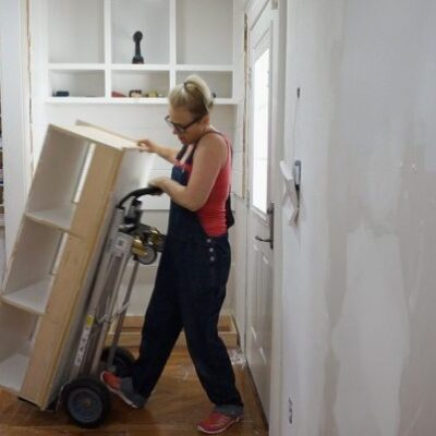 Kitchen Entry Makeover – Day 1 – Demolition