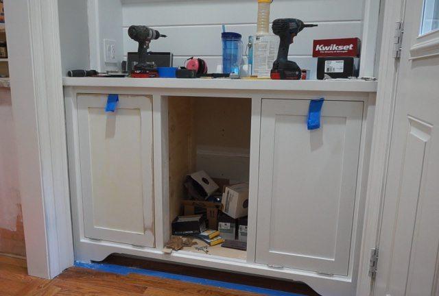 Tilt Out Storage Cabinet