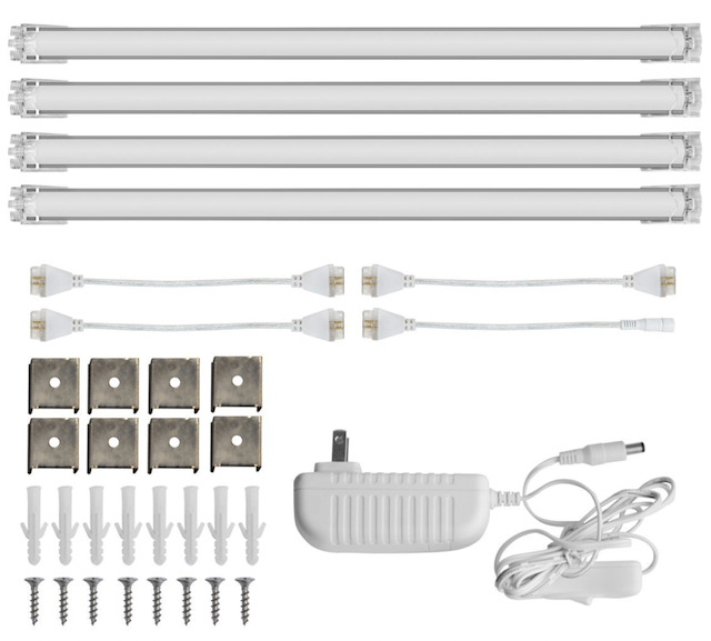 LED under-cabinet lights