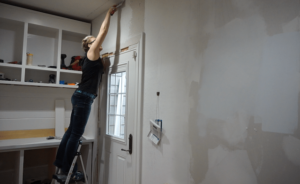Walls and walls- Kitchen Entry Makeover Day 4