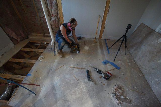 Bathtub Demolition
