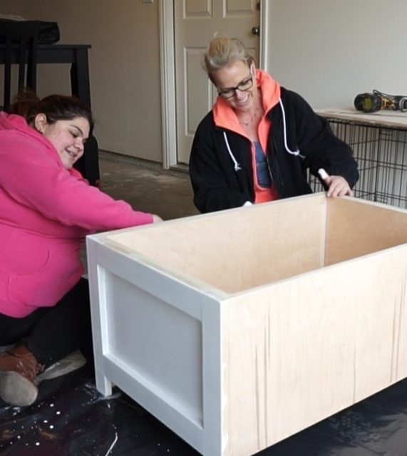 Toy box for Shelby's home