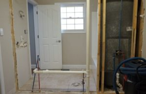 Jack-and-Jill Bathroom Remodel Begins