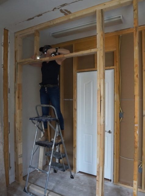 Framing A Pocket Door