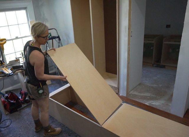 Linen Closet Cabinet
