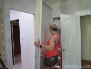 The Door Thief – bathroom progress