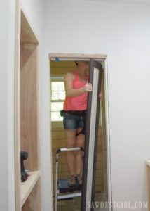 Water Closet Doors-way