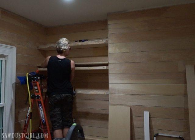 Shiplap Bedroom Re-Do