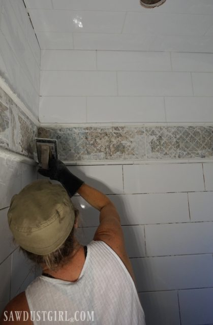 Tiling the Shower
