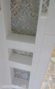 Tiling the Shower – Bathroom Update