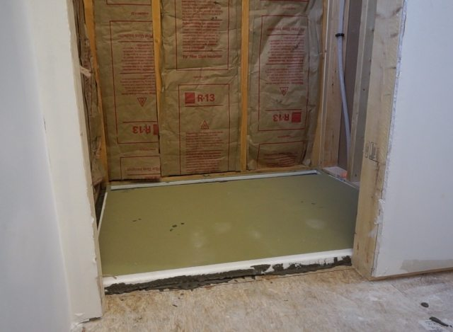 Installing Preformed Shower Pan - Tile Ready