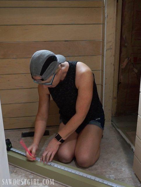 Tile ready shower pan installation