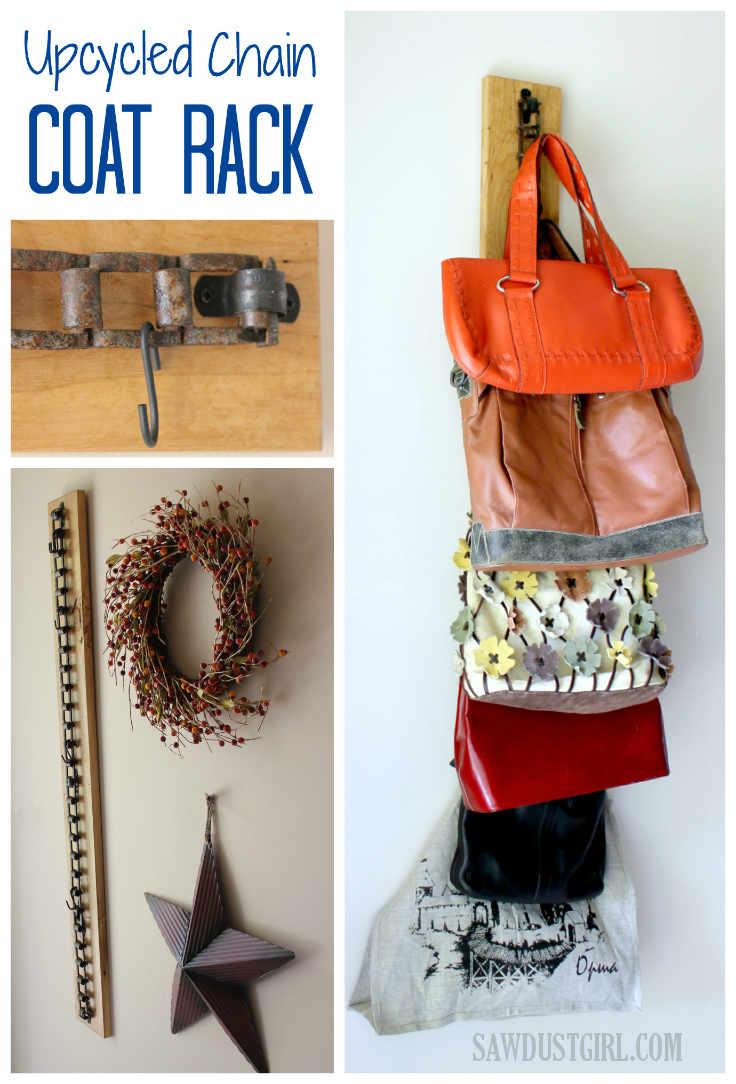 DIY Coat Rack Storage Uses
