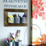 Declutter with DIY Storage – Cheap Storage in a Snap