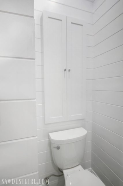 Jack And Jill Water Closet Cabinet