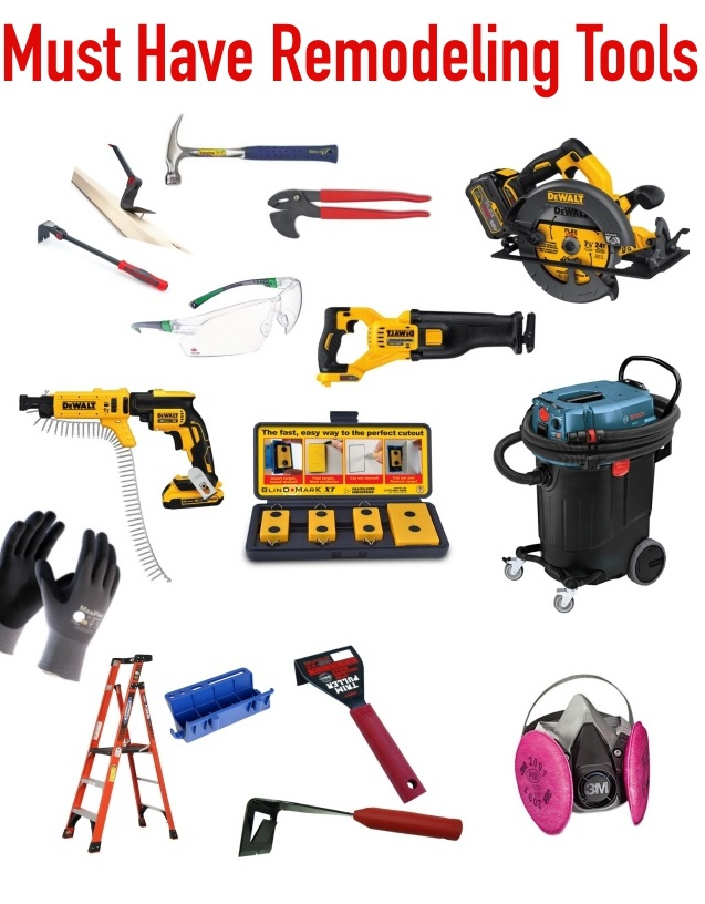 Must Have Wedding Poses: Must Have Remodeling Tools