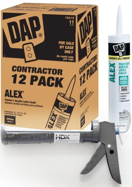 dripless caulk gun and all purpose caulk