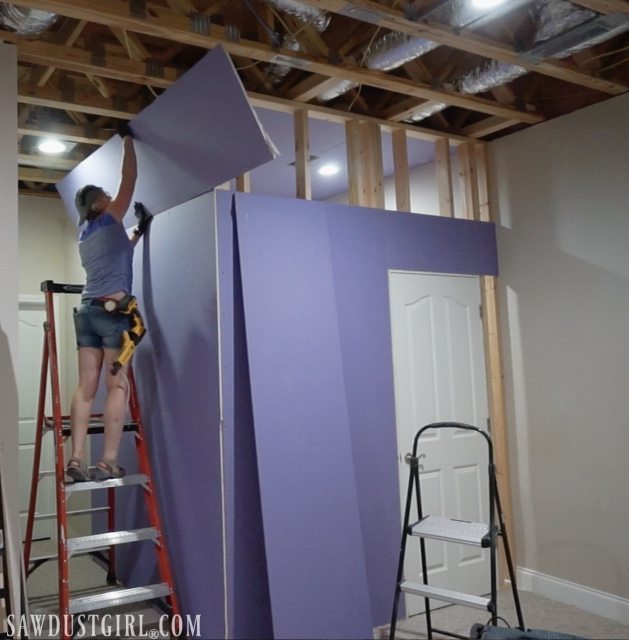 Installing PURPLE XP® Drywall