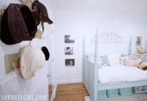 Pretty Bedroom Makeover Reveal – Small Bedroom Ideas