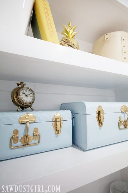 Storage solutions for a small bedroom