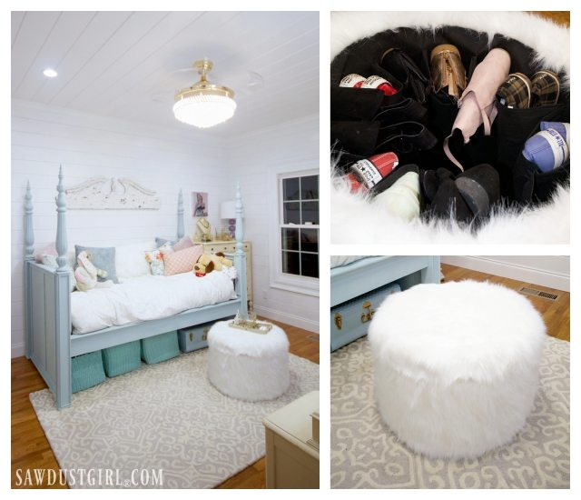Pretty Bedroom Makeover Reveal - Small Bedroom Ideas ...